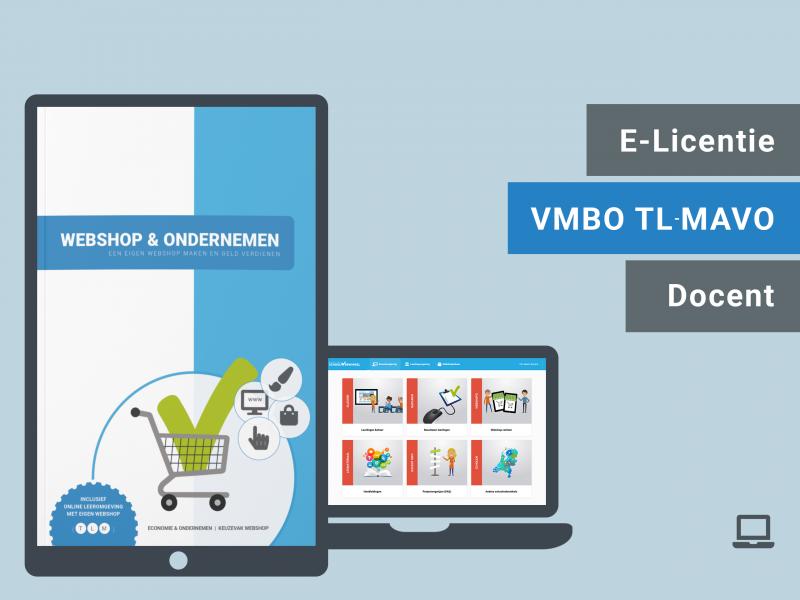 Webshop & Ondernemen | Docent licentie | TLM