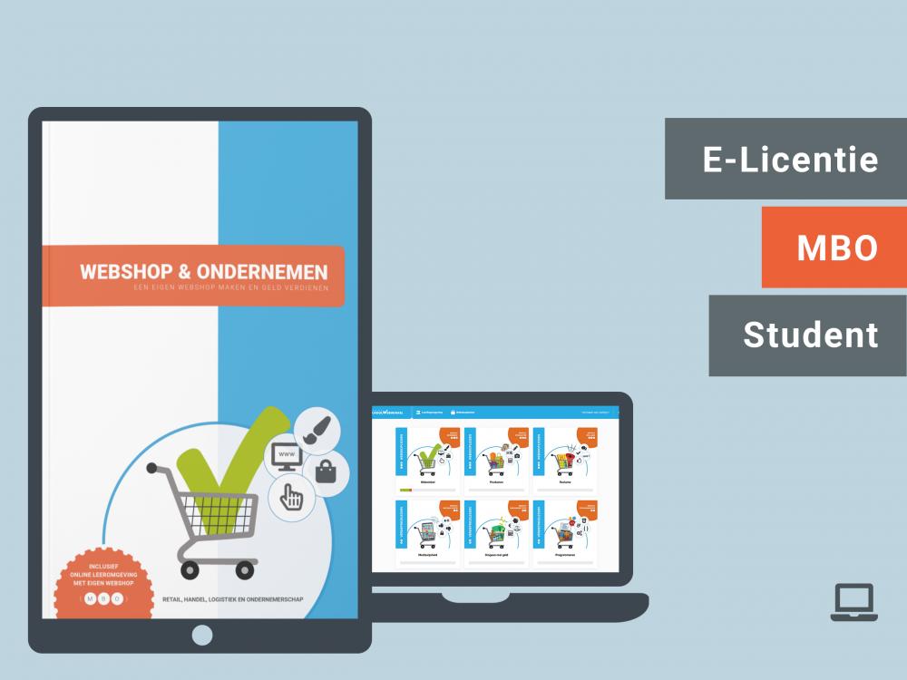 Webshop & Ondernemen | Student licentie | MBO