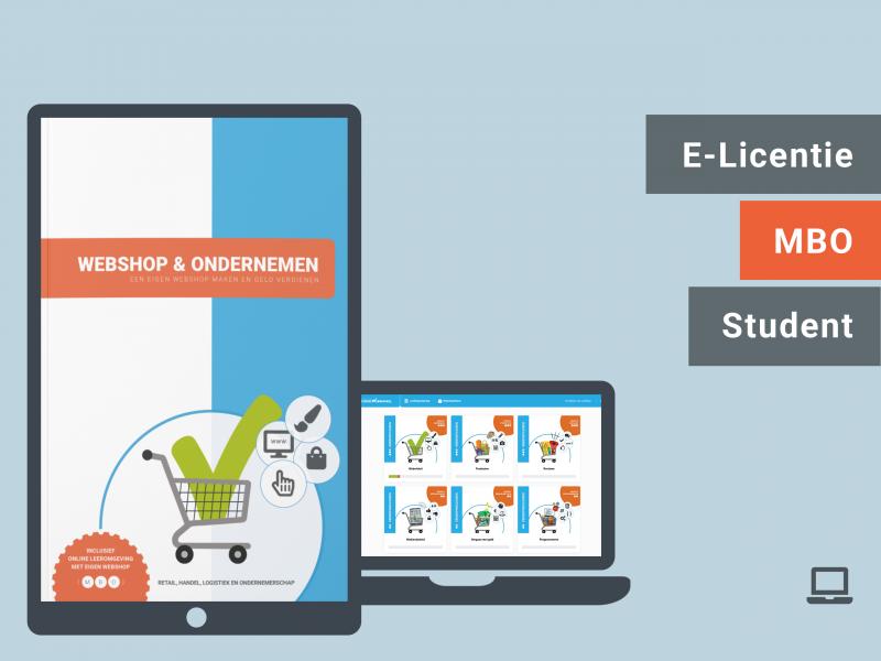 MBO | Student e-licentie | Webshop & Ondernemen