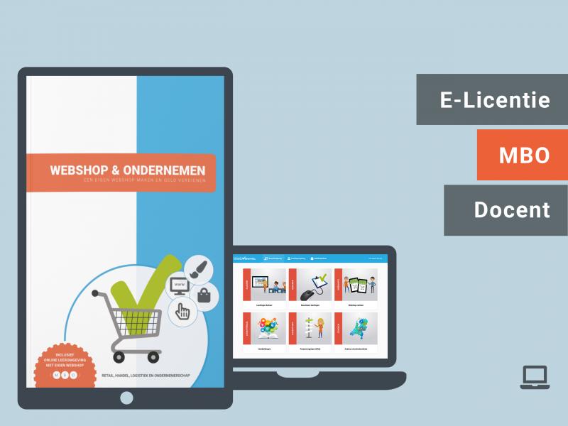 Webshop & Ondernemen | Docent licentie | MBO